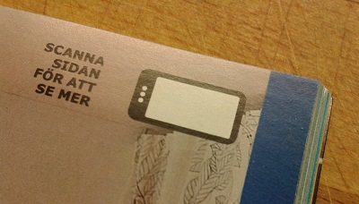 close up of IKEA's scan icon